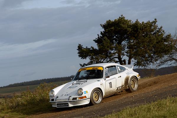 Küke / Carl bei der Rallye Köln – Ahrweiler auf Platz 3