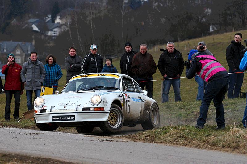 Küke/Carl: Auftakterfolg in der Rallye-Saison 2016 in Kempenich